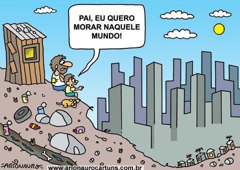 Desigualdade nos mantém na pobreza - Blog do Ari Cunha