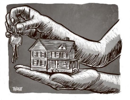 Ilustração: política habitacional do DF