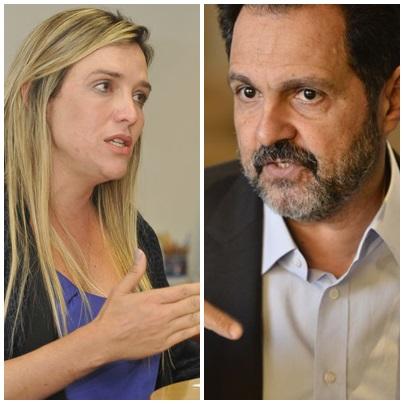 Agnelo Queiroz e Celina Leão