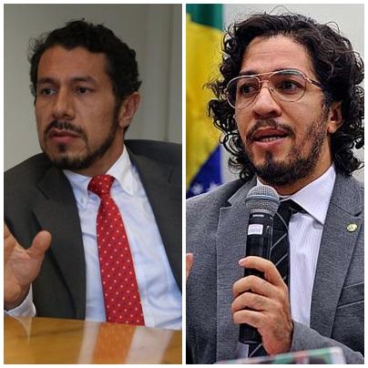 Rômulo Neves e Jean Wyllis