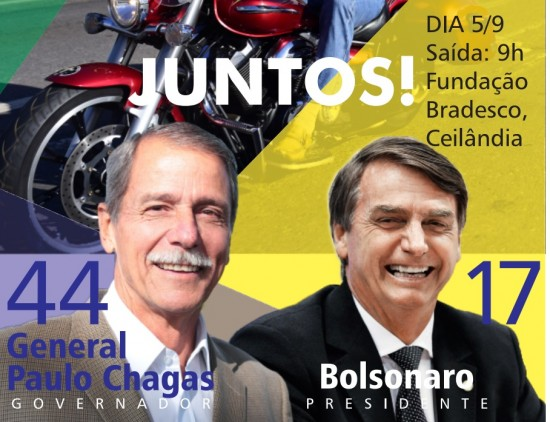 Bolsonaro e Paulo Chagas