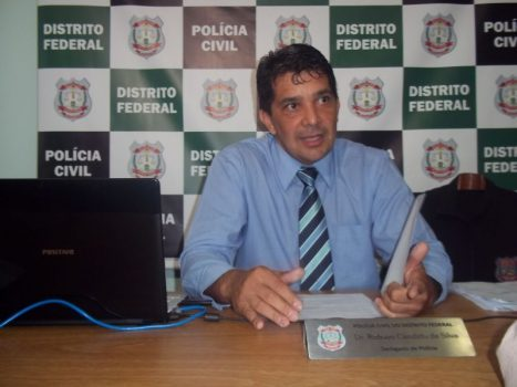 Robson Cândido delegado da polícia civil do df