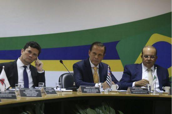Sérgio Moro, João Doria Ibaneis Rocha