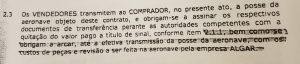 Contrato firmado pelo vice-governador