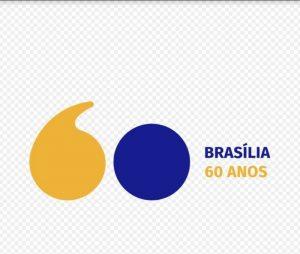Logo Brasilia 60 anos