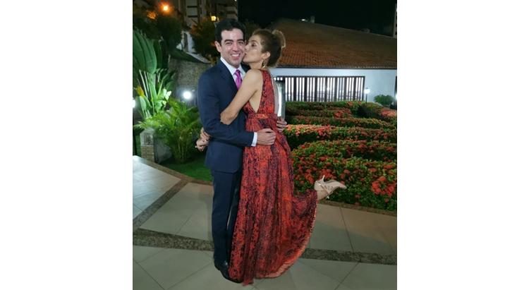 Bruno Dantas e Vanessa da Mata