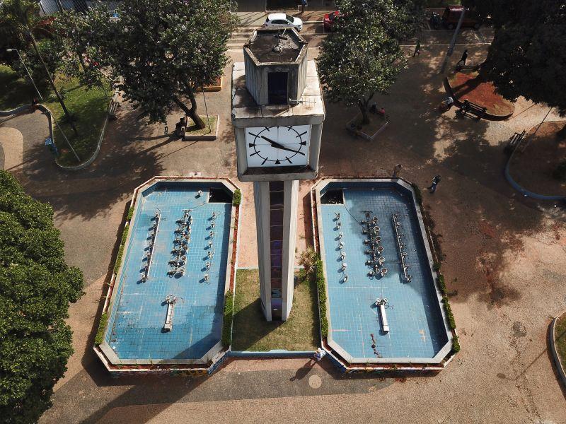 Praça do Relógio em Taguatinga