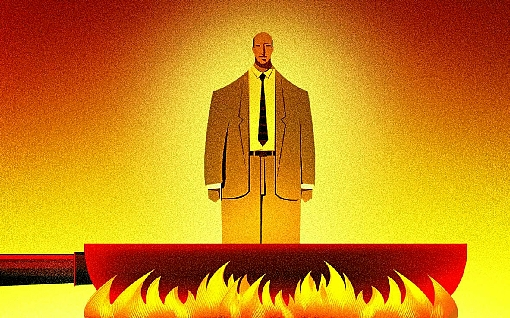 Homem na panela pegando fogo Brasília Ibaneis