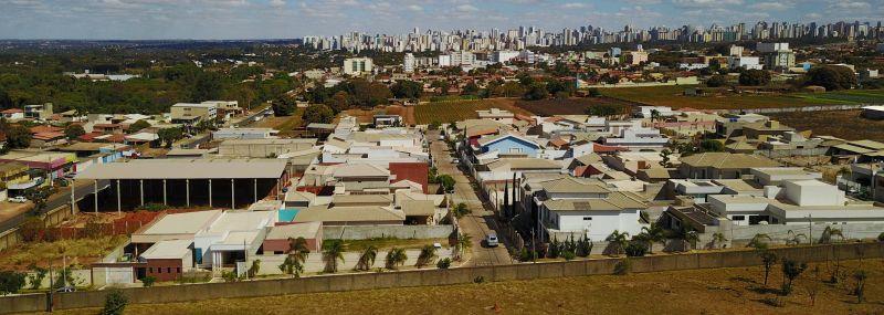 Foto aérea de Vicente Pires