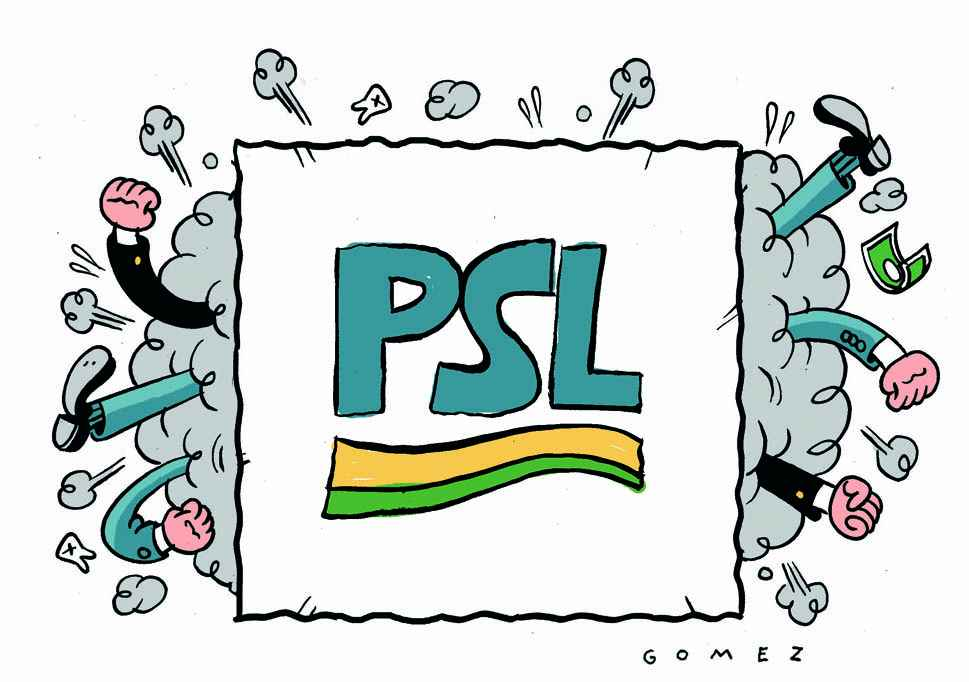 A disputa da semana no PSL