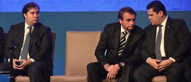 Maia Bolsonaro e Alcolumbre
