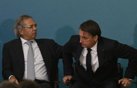 Paulo Guedes e Jair Bolsonaro
