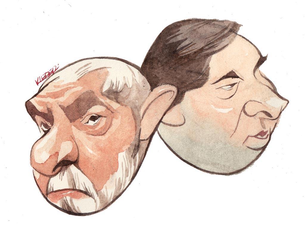 Lula e Rodrigo Maia