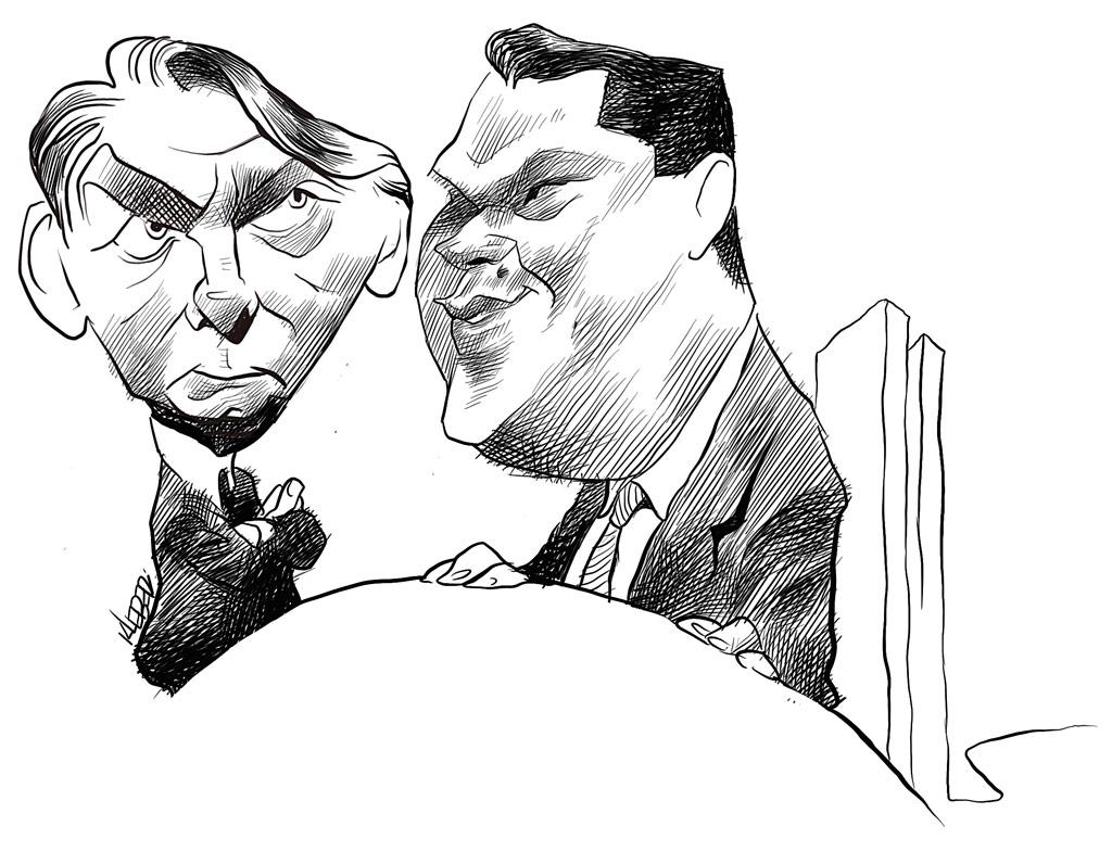Bolsonaro e Davi Alcolumbre