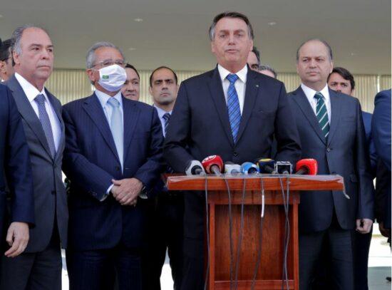 Bolsonaro, Guedes e deputados anunciam o envio da Reforma administrativa