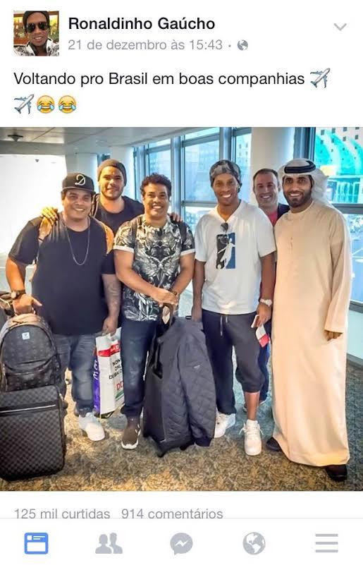 R10, a família e amigos árabes no facebook