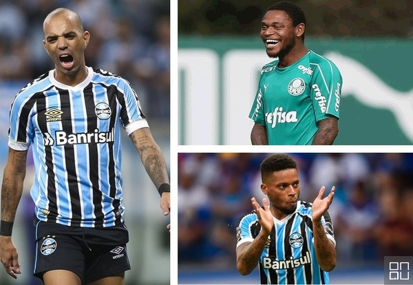 Grêmio x Palmeiras: quando Diego Tardelli, Luiz Adriano e ...