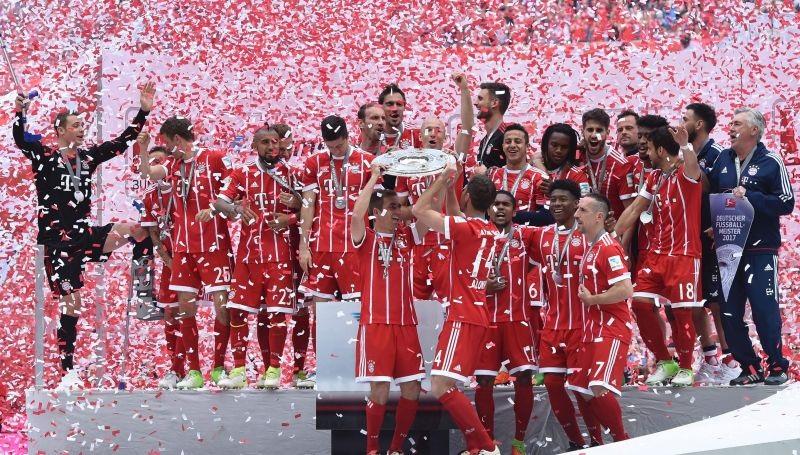 O Bayern de Munique busca o heptacampeonato alemão. Foto: Christof Stache/AFP