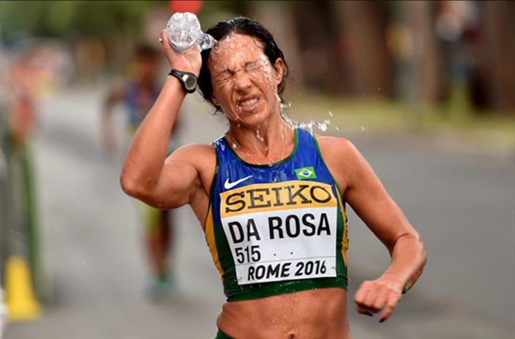 Nair da Rosa: 5ª na marcha 50 km, prova aberta pela primeira vez às mulheres / Foto: Presse Comunicação Empresarial