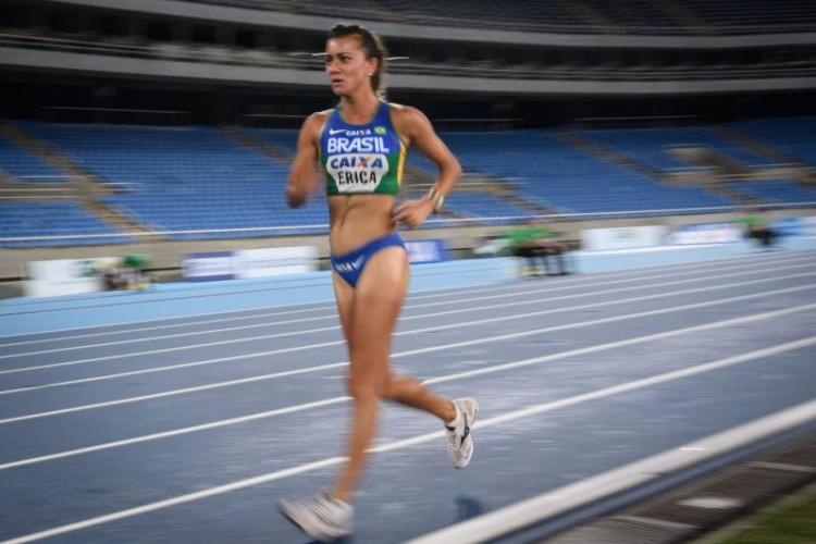 Erica Sena ficou em na marcha atlética 20 km