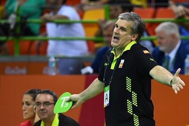 Dueñas foi técnico da Espanha na Rio-2016 | Foto: AFP