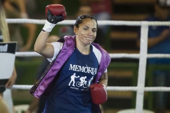 Rose Volante é campeã mundial de boxe