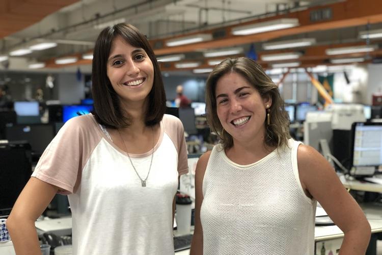 Autoras do Blog Elas no Ataque: Maria Eduarda Cardim e Maíra Nunes