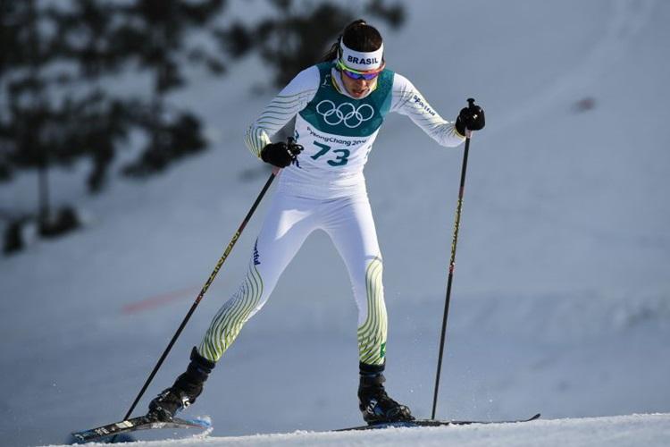 Jaqueline Mourão é recordista de participação em Olimpíadas: chegou à sexta edição / Foto: Franck Fife/AFP
