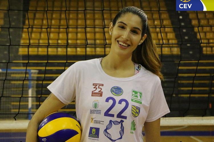 Omy Perdomo é primeira transexual na elite do vôlei espanhol