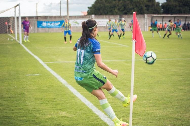 Minas aplica goleada por 10 x 0 no Canindé-SE pela fase preliminar do Brasileirão A2 de futebol feminino