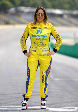 Bia Figueiredo é a única mulher da Stock Car | Foto: Carsten Horst/Divulgação