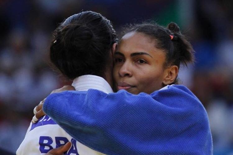 a judoca Érika Miranda se aposenta dos tatames. Brasiliense é recordista com mais medalhas em mundiais entre brasileiros