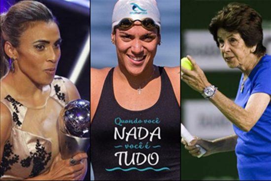 Vídeo Retrospectiva 2018 do Elas no Ataque sobre 10 momentos em que as mulheres foram protagonistas no esporte neste ano