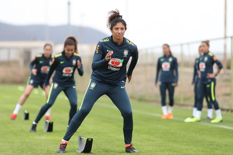 Seleção Brasileira feminina-granja comary