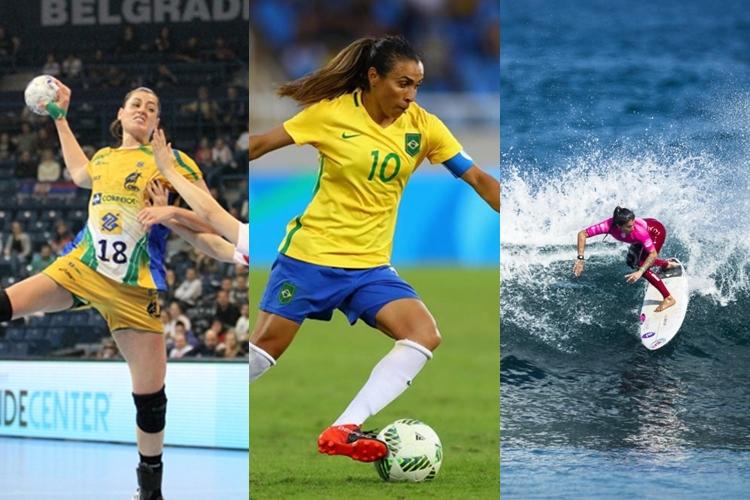 Mundial de handebol, Copa do Mundo de futebol feminino e Mundial de surfe são algumas das competições que agitam o mundo esportivo em 2019