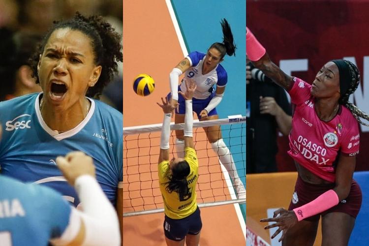 Superliga feminina de vôlei se prepara para os playoffs