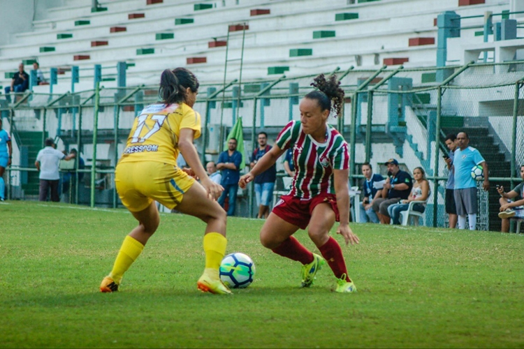 Fluminense vence Cresspom na estreia do Brasileiro A2 de futebol feminino 2019; jogo tem polêmicas com estrutura