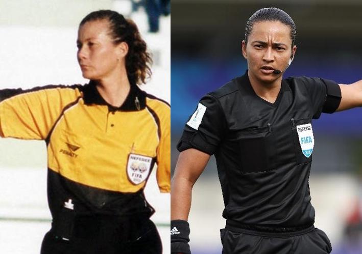 Edina e Silvia Regina: árbitras mulheres que apitaram na Série A do Campeonato Brasileiro