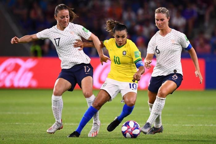 Marta foi uma das protagonistas da Copa do Mundo feminina da França