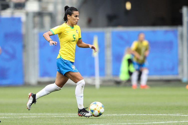Camisa 5, Thaísa disputa a segunda Copa do Mundo dela na França, em 2019
