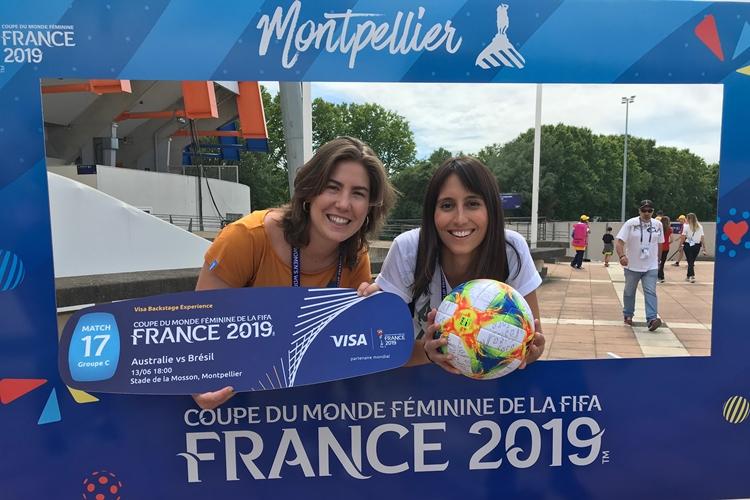 Cidade ao Sul da França, Montpellier recebeu Brasil x Austrália, pela Copa do Mundo feminina da França