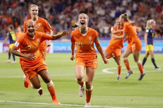 Holanda-Jackie Groenen-Copa do mundo feminina