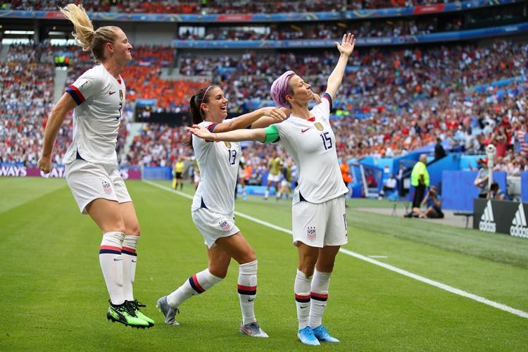 Estados Unidos-Megan Rapinoe-Copa do Mundo feminina