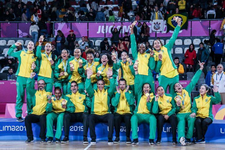 Basquete feminino do Brasil foi ouro nos Jogos Pan-Americanos de Lima 2019