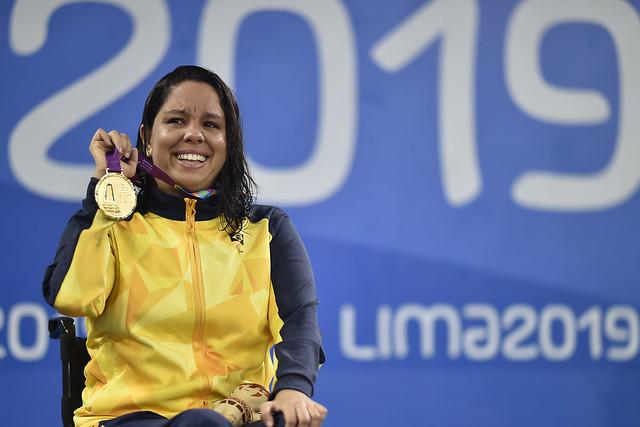 Edenia Nogueira Garcia volta ao Mundial de Natação Paralímpica como favorita dos 50m costas após pentacampeonato nos Jogos Parapanamericanos Lima 2019