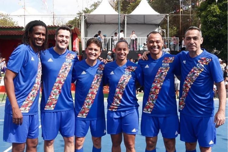 Jogadora de futebol, Rosana integra o Fifa Legends
