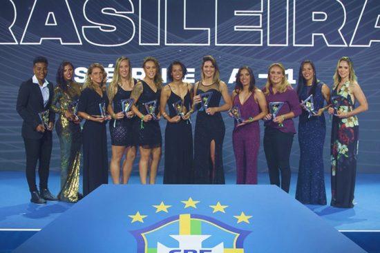 Seleção das melhores do Brasileirão Feminino A1 2019