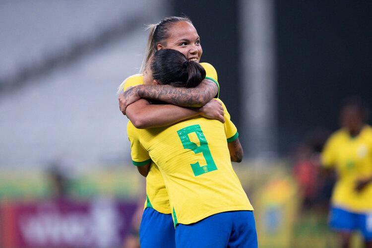 Nycole Raysla na Seleção Brasileira feminina