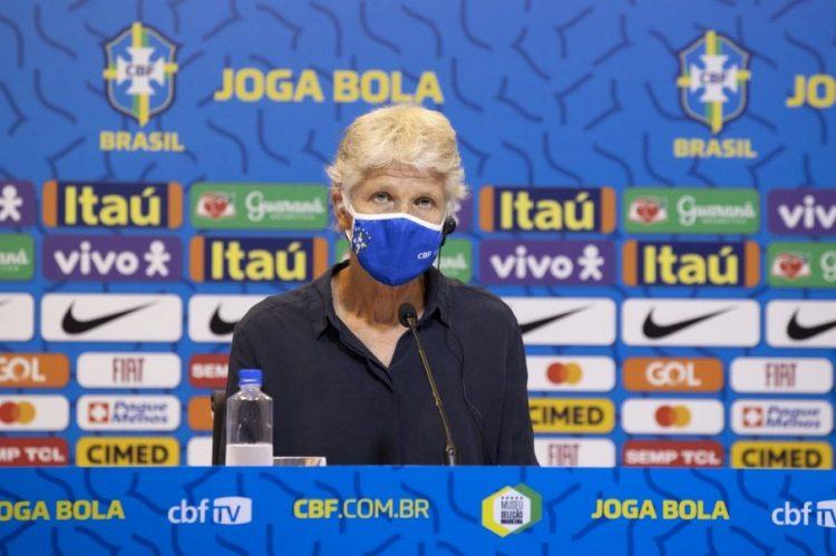 Pia Sundhage, técnica da Seleção Brasileira feminina de futebol