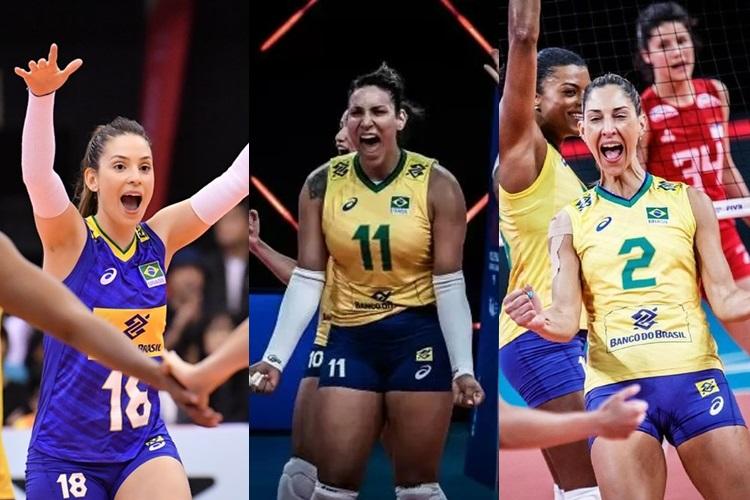 Camila Brait, Tandara e Carol Gattaz: a convocação para os Jogos Olímpicos de Tóquio após passarem por cortes na carreira